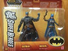 DC Super Heroes Batman & Batgirl SC3 Select Sculpt Series NEW IN BOX