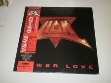 LION - POWER LOVE - LP 1986 MADE IN JAPAN FEMS RECORDS W/OBI - EX++/VG++ - AOR -