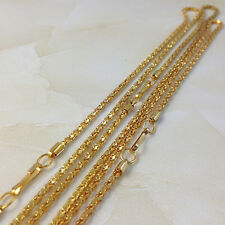 "Wholesale 20Pcs Clasp GOLD SNAKE CHAIN NECKLACE 17""1/3"" PJ0002"