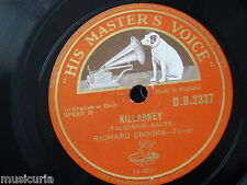"78rpm 12"" RICHARD CROOKS killarney / good-bye DB 2337"