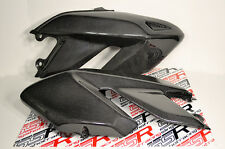 Ducati Hypermotard 796 1100 EVO/SP Gas Fuel Tank Side Covers Panels Carbon Fiber