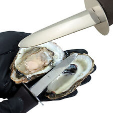 Round-Tip Clam Shell Oyster Shucking Knife Shucker Opener For Chef/Cook/Culinary