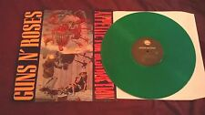 Guns N' Roses ‎– Appetite For Destruction RARE GREEN VINYL LP