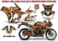 AMR RACING DEKOR GRAPHIC KIT HONDA CBR 250, 500R, 600RR, 1000RR FIRESTORM B
