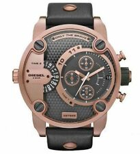 Diesel DZ7268 Little Daddy Rose Gold Chronograph Leather Men's Wrist Watch