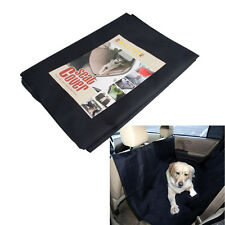 "New 51.97""Black Heavy Duty  Waterproof Pet Dog Car Hammock Back Seat Cover"
