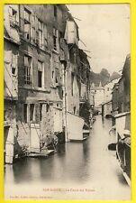 cpa Lorraine 55 - BAR le DUC (Meuse) Le CANAL des USINES Animée Lavoirs