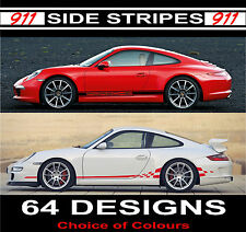 porsche 911 side stripes decals carerra turbo gt2 gt3 20off choice of design