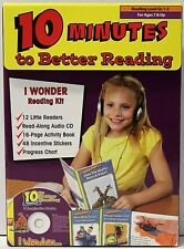 10 MINUTES TO BETTER READING KIT - READING LEVEL GRADE 1-2 - AGES 7 & UP