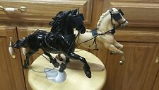 One Breyer horse custom PSQ harness