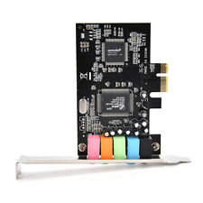 Cmedia Chipset CMI8738 PCI-Express 5.1 6-Channels Digital Audio Sound Card WB