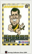 2007 AFL Teamcoach Trading Card Star Wild SW12 Joel Bowden (Richmond)