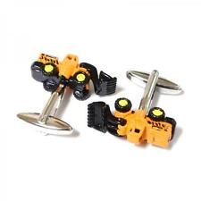 Tractor CUFFLINKS Excavator Digger Driver Party Christmas BIRTHDAY PRESENT