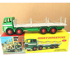 ATLAS 1:43 DIECAST DINKY SUPERTOYS 935 LEYLAND OCTOPUS FLAT TRUCK WITH CHAINS