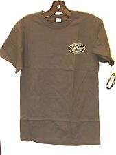 Men's Victory Motorcycle Pin-up Girl T-Shirt In Charcoal ( Size S) NWT