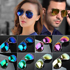 New Fashion Hot 80s Vintage Womens Mens Mirror Lens Unisex Sunglasses