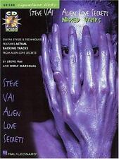 STEVE VAI ALIEN LOVE         SECRETS NAKED VAMPS CD/PKG Guitar Signature Licks