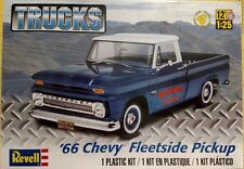 Revell 1966 Chevy Fleetside Pickup 1/25 Scale Model Kit 85-7225