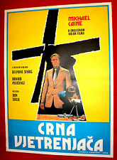 BLACK WINDMILL 1974 MICHAEL CAINE DONALD PLEASENCE DON SIEGEL EXYU MOVIE POSTER