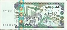 ALGERIA 2000 DINARS 2011  P 144 -XF CONDITION. 3RW 19AGOST