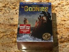 THE GOONIES BLU-RAY 25th ANNIVERSARY BOX SET BOARD GAME EXTRAS BRAND NEW SEALED!