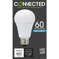 TCP Connected 60W Daylight (5000K) A19 Smart LED Bulb GATEWAY NEEDED