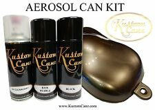 BASE PEARL SKY BLACK AEROSOL CAN KIT - GUITAR,  CUSTOM PAINT, LAMBRETTA