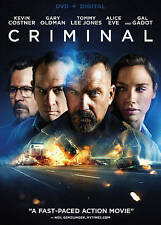 Criminal [DVD ] FREE FIRST CLASS SHIPPING !!!!!