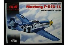 ICM 48151 1/48 P-51D15 Mustang WWII American Fighter