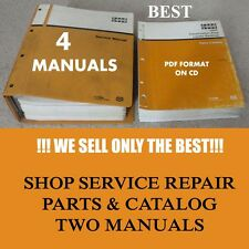 4 Manual Case Phase 1 580K 580 K 580CK Loader Backhoe Shop Service Parts Catalog