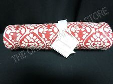Pottery Barn Dotson Kitchen Dining Tablecloth Napkins 70x108 Cherry Red 5 Pc Set