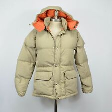 Vintage THE NORTH FACE Insulated DOWN PARKA Hooded Jacket / XS Tan