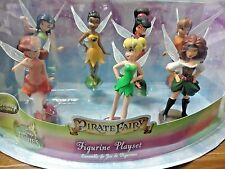 Disney Fairies 7 Piece Figurine Play Set - The Pirate Fairy *New-in-Package
