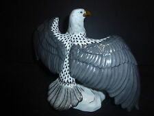 Herend Ltd. Edition Kingdom Classic Bald Eagle - LARGE, MINT and VERY RARE!