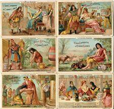 Chromo Liebig Sang. 198 ITA Il Figliuol Prodigo ANNO 1887