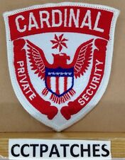 CARDINAL PRIVATE SECURITY (POLICE) SHOULDER PATCH