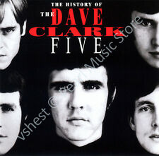 DAVE CLARK FIVE HISTORY OF THE DAVE CLARK FIVE 32 PG. BOOKLET 2 CD IN JEWEL CASE
