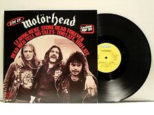 MOTORHEAD THE GOLDEN YEARS LIVE EP LP RARE 1980 ORIG. GERMAN IMPORT LEMMY