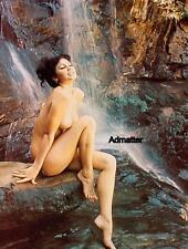 VINTAGE PINUP CALENDAR GIRL POSTER TOPLESS NUDE ASIAN PHOTO 8X10 EROTIC PRINT!