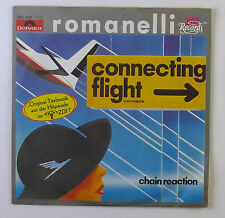 """7"""" Single - Romanelli - Connecting Flight - S703 - washed & cleaned"""