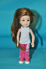 "Ty Girlz Li'L Ones Trendy Taylor Doll Figurine  4 1/2"" Tall"