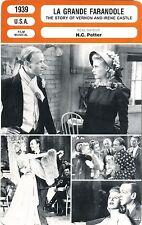 Fiche Cinéma. Movie Card. La grande farandole (USA) 1939 H.C. Potter