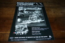 RAGE AGAINST THE MACHINE - Publicité de magazine / Advert !!! 20 ANS !!! 2