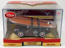 Disney Store Exclusive CARS Artist Series Lightning Mcqueen Surfboard Diecast