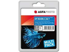 AgfaPhoto Ink Cartridge HP 364xl Set CIANO/YEL/mag/BK PHOTOSMART 7510