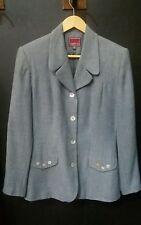 VESTINO Damenjacke Blazer Jacket  Gr. 38 hell blau Top Zustand und Qualität!