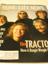 The Tractors Cover Music City News Magazine December 1995 Faith Hill