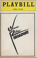 1989 Playbill Jerome Robbins Broadway Jason Alexander Faith Prince