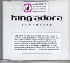 (BH508) King Adora, Suffocate - 2001 DJ CD