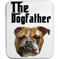 BRITISH BULLDOG DOGFATHER  MAFIA 2- MOUSE MAT/PAD AMAZING DESIGN